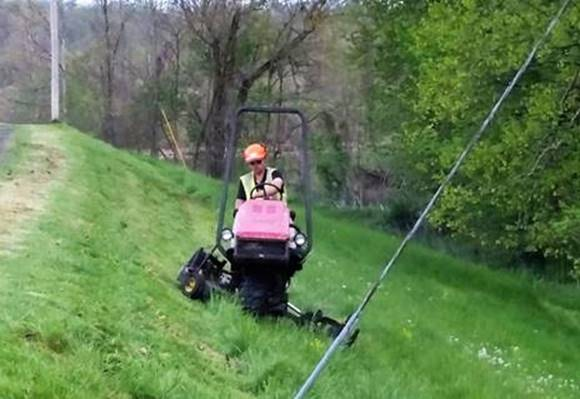 slope-mowing